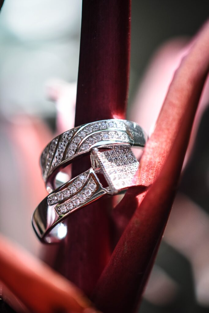 Jewellery Photography for a wedding