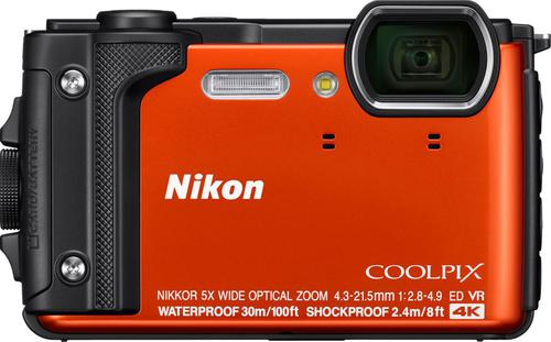 Nikon Coolpix W300 is One of the best waterproof cameras for kayak fishing.