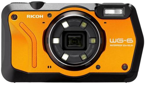 Ricoh WG-6 is One of the best waterproof cameras for  kayak fishing.